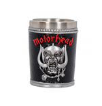Motorhead Shot Glass ( Stainless Steel & Resin ) War Pig / Ace Of Shades (shot GLASS)