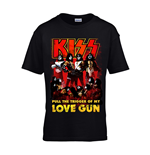 Kiss T-Shirt Love Gun