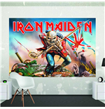 Iron Maiden Poster Wall Mural (1.58 X 2.32M)