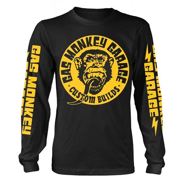 Nouvelles Arrivées prix modéré vraie qualité Gas Monkey Garage T-Shirt Big Yellow Logo