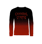 Cannibal Corpse Sweatshirt Dripping Logo (dip DYE)