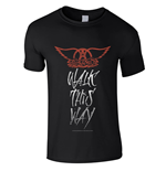 Aerosmith T-Shirt Walk This Way