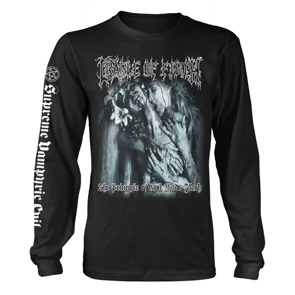 Cradle Of Filth Long Sleeves T-Shirt The Principle Of Evil Made Flesh