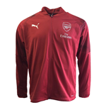 2018-2019 Arsenal Puma Stadium Jacket (Red)