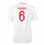 2018-2019 England Home Nike Football Shirt (Maguire 6)
