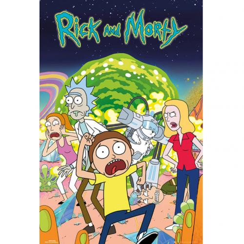 Rick And Morty Poster Group 239