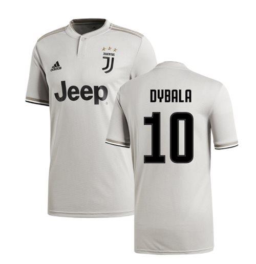 new photos 6ce25 331af 2018-2019 Juventus Adidas Away Football Shirt (Dybala 10)