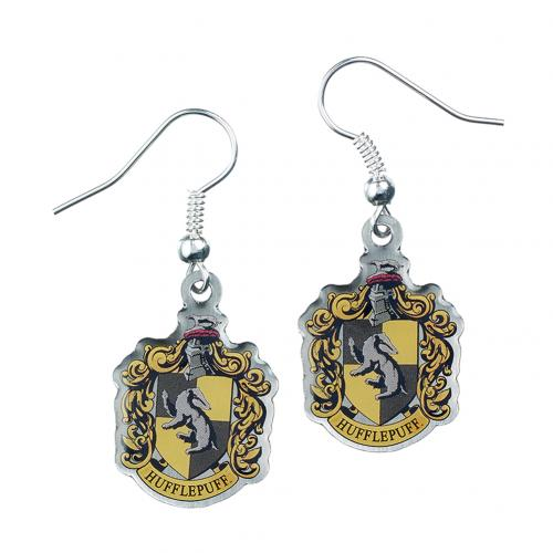 Harry Potter Silver Plated Earrings Hufflepuff