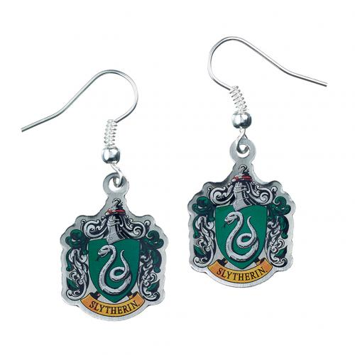 Harry Potter Silver Plated Earrings Slytherin