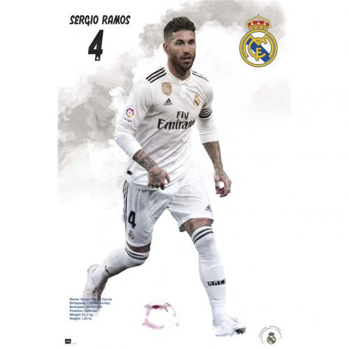 Real Madrid F.C. Poster Ramos 42