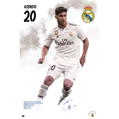 Real Madrid F.C. Poster Asensio 57