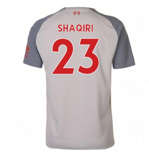 2018-2019 Liverpool Third Football Shirt (Shaqiri 23)