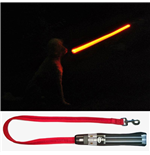 Star Wars LED Dog Lead Darth Vader Lightsaber