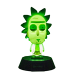 Rick & Morty 3D Icon Light Rick Limited Edition 10 cm