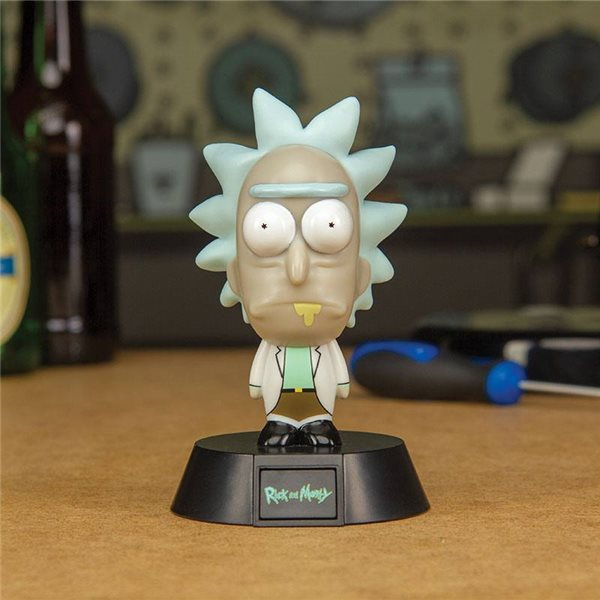 Rick & Morty 3D Icon Light Rick 10 cm