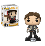 Star Wars Solo POP! Movies Vinyl Bobble-Head Han Solo 9 cm
