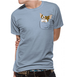 Gremlins - Gizmo Pocket - Unisex T-shirt Blue