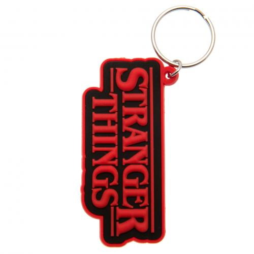 Stranger Things Keyring Logo