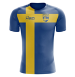 2018-2019 Sweden Flag Concept Football Shirt (Kids)