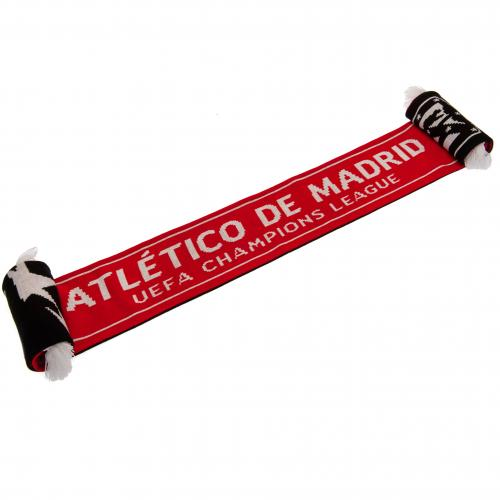 Atletico Madrid F.C. Champions League Scarf
