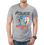 Police - Nth American Tour - Unisex T-shirt Grey