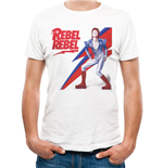 David Bowie - Rebel Rebel - Unisex T-shirt Grey