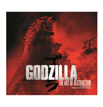 Godzilla Art Book The Art of Destruction