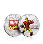 Marvel Collectable Coin Iron Man (silver plated)