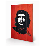 Che Guevara Print on wood 333115