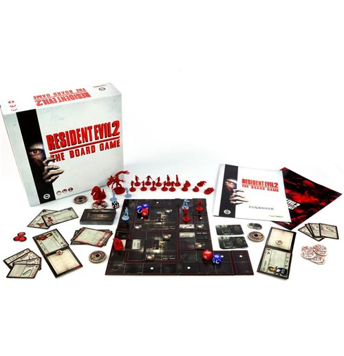 Resident Evil 2 The Board Game *English Version*