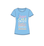 Mary Poppins Ladies T-Shirt Super