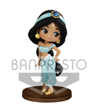 Disney Q Posket Petit Girls Festival Mini Figure Jasmine 7 cm