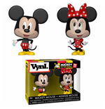 Disney VYNL Vinyl Figures 2-Pack Mickey Mouse & Minnie Mouse 10 cm