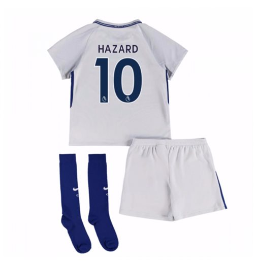 2017-18 Chelsea Away Mini Kit (Hazard 10)