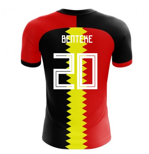 2018-2019 Belgium Flag Concept Football Shirt (Benteke 20) - Kids