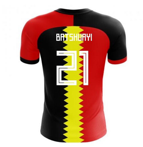 2018-2019 Belgium Flag Concept Football Shirt (Batshuayi 21) - Kids