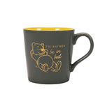 Winnie the Pooh Tapered Mug I'd rather be in bed