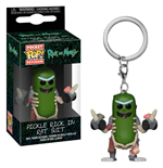 Rick and Morty Pocket POP! Vinyl Keychain Rick in Rat Suit 4 cm