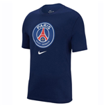 2018-2019 PSG Nike Evergreen Crest Tee (Navy)