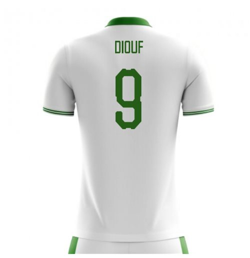 2018-2019 Senegal Home Concept Football Shirt (Diouf 9) - Kids