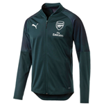 2018-2019 Arsenal Puma Stadium Jacket (Ponderosa Pine)