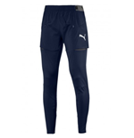 2018-2019 Arsenal Puma Pro Training Pants with Pockets (Peacot)