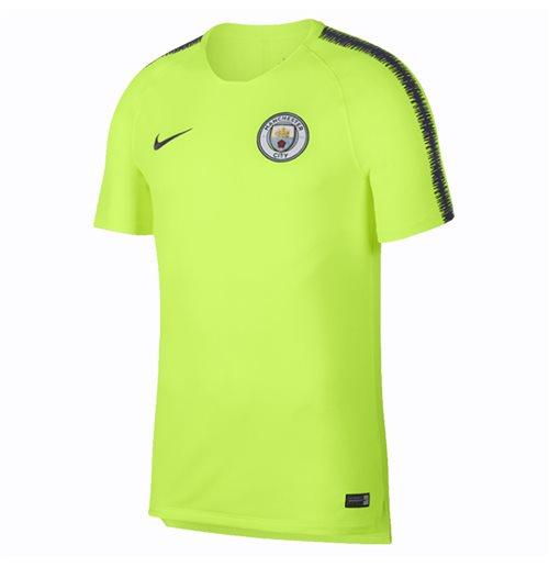 promo code 29f02 d7426 2018-2019 Man City Nike Squad Training Shirt (Volt)