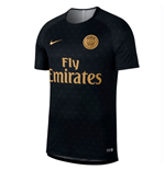 2018-2019 PSG Nike Pre-Match Training Shirt (Black)
