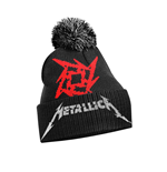Metallica Cap Glitch Star Logo (bobble HAT)