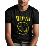 Nirvana - Smiley Fp - Unisex Black
