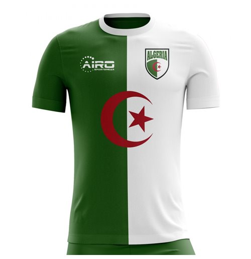 2018-2019 Algeria Home Concept Football Shirt (Kids)