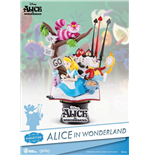 Alice in Wonderland D-Select PVC Diorama 15 cm