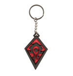 World of Warcraft Rubber Keychain Horde Pride 4 cm