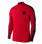 2018-2019 PSG Nike Long Sleeve Football Top (Red)